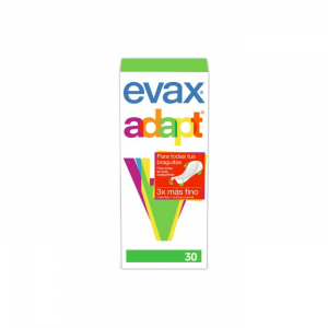 Evax Adapt Pantyliners 30 Units