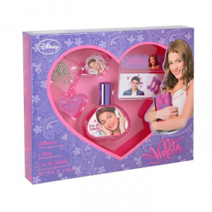 Disney Violetta Eau De Toilette Spray 30ml Set 3 Parti