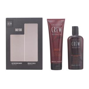American Crew Daily Moisturizing Shampoo 250ml Set 2 Parti