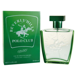 Beverly Hills Polo Club Colors For Men Eau De Toilette Spray 100ml