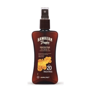 Hawaiian Tropic Protective Dry Spray Oil Spf20 Medium 200ml