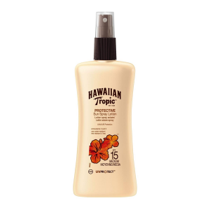 Hawaiian Tropic Protective Latte Solare Spray Spf15 Medium 200ml