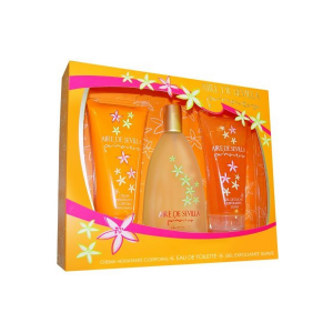 Aire De Sevilla Primavera Eau De Toilette Spray 150ml Set 3 Parti