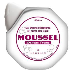 Legrain Moussel White Moisturizing Shower Gel 600ml