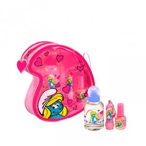 Cartoon Smurfs Pitufina Pink Eau De Toillete 50ml Set 4 Parti 2017