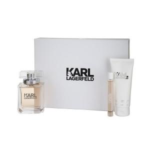 Karl Lagerfeld Eau De Parfum Spray 85ml Set 3 Parti