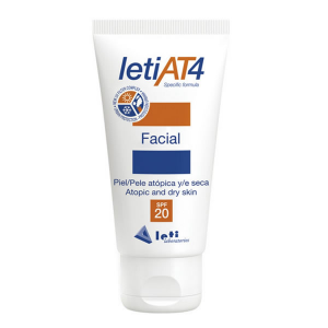 Leti At4 Crema Viso Spf20 50ml