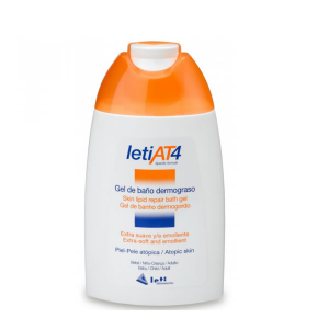 Leti At4 Gel Bagno Dermograsso Pelli Atopiche 750ml