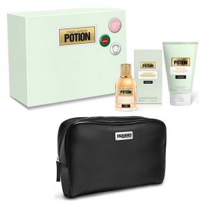 Dsquared2 Potion Eau De Parfum Spray 50ml Set 3 Parti