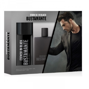 David Bustamante Esencia Black Eau De Toilette Spray 100ml Set 2 Parti 2017