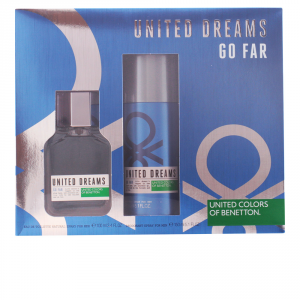 Benetton United Dreams Go Far Eau De Toilette Spray 100ml Set 2 Parti 2016