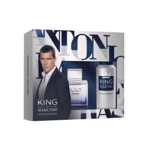 Antonio Banderas King Of Seduction Eau De Toilette Spray 100ml Set 2 Parti 2016