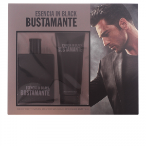 David Bustamante Esencia In Black Eau De Toilette Spray 100ml Set 2 Parti 2017