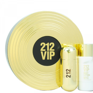 Carolina Herrera 212 Vip Eau De Parfum Spray 80ml Set 2 Parti 2017