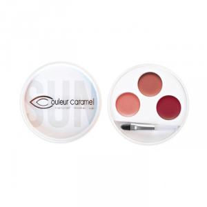 Couleur Caramel 3 Lipstick Palette 31 Swahili Edizione Limitata