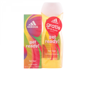Adidas Woman Get Ready Eau De Toilette Spray 50ml Set 2 Parti 2017
