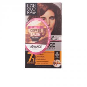 Llongueras Color Advance Coffee Salon Collection Hair Colour 6.34 Dark Golden Copper Blond