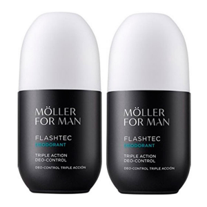 Anne Moller For Man Deodorante Roll-on 75ml Set 2 Parti