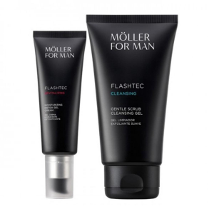 Anne Moller For Man Flashtec Detox Gel Cream 50ml Set 2 Parti