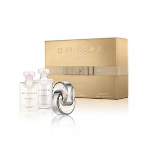 Bvlgari Omnia Crystalline Eau De Toilette Spray 40ml Set 3 Parti 2017