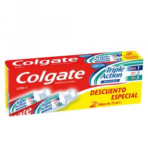 Colgate Triple Action Dentifricio 2x75ml