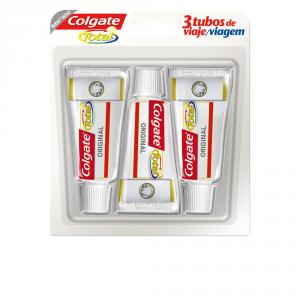 Colgate Total Original Viaggio Dentifricio 3x19ml