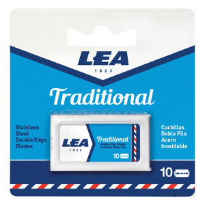 Lea Traditional Double Edge Blades Pack 10 Unitá