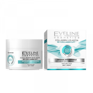 Eveline 3D Collagen Lift Intense Anti Wrinkle Day And Night Cream 50ml