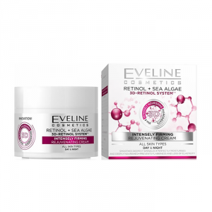 Eveline 3D Retinol System Intensely Firming Day And Night Cream 50ml