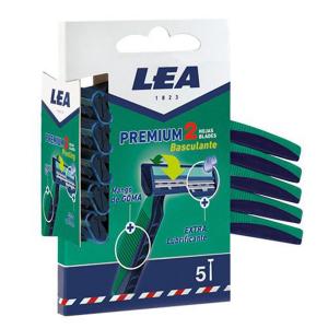 Lea Premium 2 Tilting Blades Disposable Blades Pack 5 Units