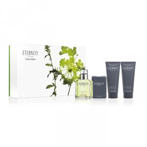 Calvin Klein Eternity For Men Eau De Toilette Spray 100ml Set 4 Parti 2017