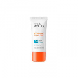 Anne Moller Express Double Care Spf30 Fluide De Protection Du Visage 50ml