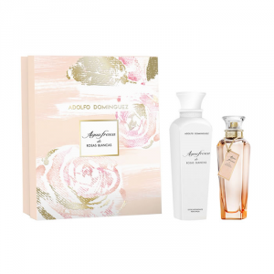 Adolfo Dominguez Agua Fresca De Rosas Blancas Eau De Toilette Spray 120ml Set 2 Parti 2017