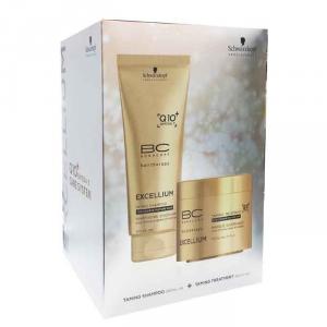 Schwarzkopf Bc Excellium Q10 Taming Shampoo 200ml Set 2 Parti 2017