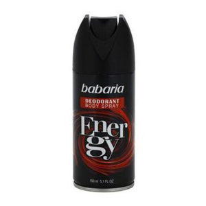 Babaria Deodorante Energy Spray 150ml
