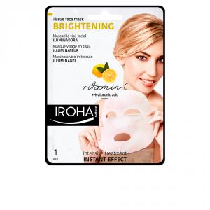 Iroha Nature Illuminatrice Maschera Viso In Tessuto Vitamina C 1 Unità