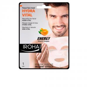 Iroha Nature Hydra Vital Maschera Viso In Tessuto Vitamina C 1 Unità