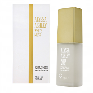 Alyssa Ashley Musk White Eau De Toilette Spray 15ml