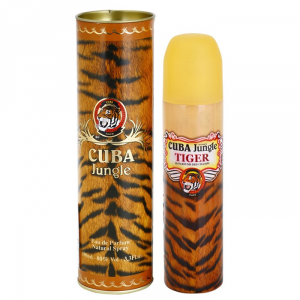 Cuba Paris Jungle Tiger Eau De Parfum Spray 100ml