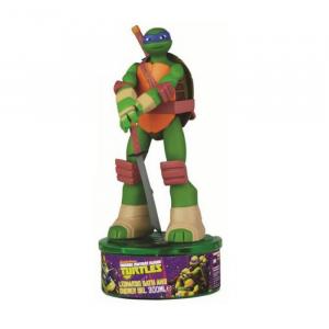 Cartoon Turtles Figura Leonardo 3D Gel Doccia 300ml