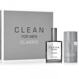 Clean For Men Classic Eau De Toilette Spray 60ml Set 2 Parti 2017