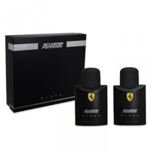 Ferrari Scuderia Black Eau De Toilette Spray 75ml Set 2 Pieces 2017