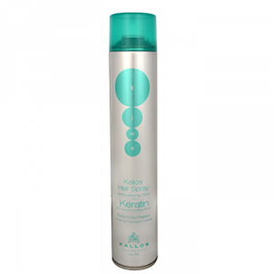Kallos Cosmetics Hair Spray Extra Strong Keratin 750ml