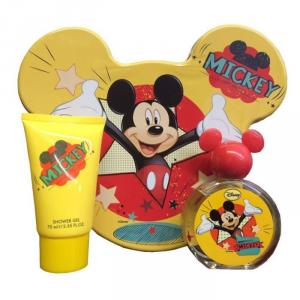 Disney Mickey Mouse Eau De Toilette Spray 50ml Set 2 Parti
