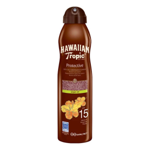 Hawaiian Tropic Olio Solare Secco In Spray Spf15 177ml