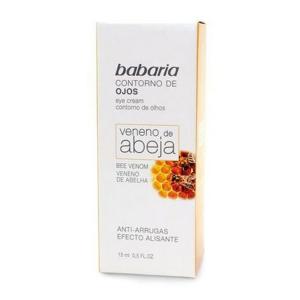 Babaria Crema Per Gli Occhi Veleno Ape Anti-Rughe Effetto Di Levigatura 15ml