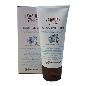Hawaiian Tropic Sensitive Skin Lozione Solare Spf50 90ml