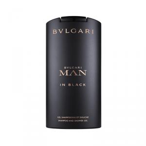 Bvlgari Man In Black Shampoo And Shower Gel 200ml