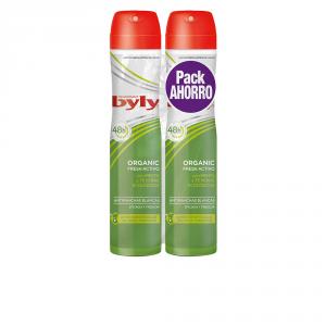 Byly Organic Extra Fresh Deodorante Spray 2x200ml