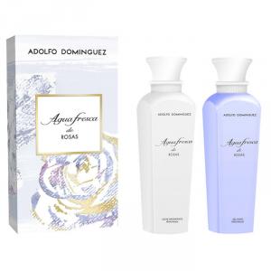 Adolfo Dominguez Agua Fresca De Rosas Gel Doccia 500ml Set 2 Parti 2017